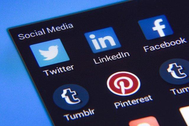 Arten von Werbung Social Media Marketing Beispiel